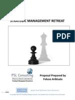 Strategic Management Retreat Proposal