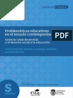 Problematicas educativas en el mundo contemporáneo