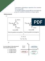 Transistor_Questions de cours