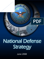 National Defense Strategy 2008