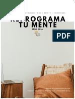 Mini Guia Reprograma Tu Mente