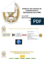 LINEAMIENTOS DEL SISTEMA DE COMUNICACIÓN E INFORMACIÓN PNP
