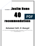 the_muslim_home__40_recommendations