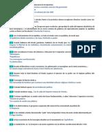 PREGUNTERO - Instituciones Políticas y Gubernamentales.
