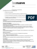 isotécnica nueve - Condiciones generales