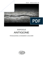 Sofocle, Massimo Cacciari (editor) - Antigone-Einaudi (2007)