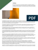 Notion de durabilite des betons