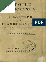 Tschoudy, Théodore-Henri de - L'Etoile Flamboyante, ou la société des Francs-Maçons