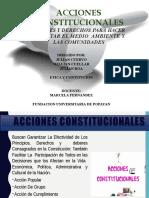 Acciones Constitucionales Etica Profecional Final Final