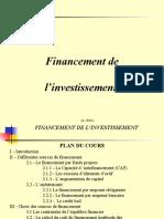 Chap. 4 - Financement de Linvestissement (1)