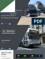 Silver Line Extension Alternatives Analysis Public Meeting #1 | April 27 MassDOT Slides