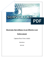 Electronic Surveillance Security, Effective Or Not?