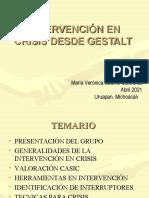Guestalt y la intervencion en crisis