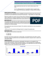 FINAL REPORT Service Quality 2009