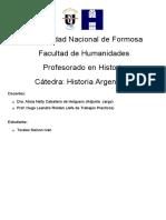 TP N°2-  Distribucion espacial de los grupos aborigens en la actual Argentina