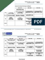 Emplois Du Temps CI-2 - Printemps - 2020-2021