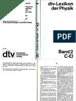 Dtv Lexikon Der Physik Band 2 C-El