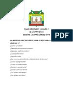 Taller de Ciencias Sociales 2 Luzma