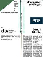 Dtv Lexikon Der Physik Band 4 Glu-Kel