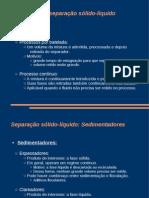 Processos de separacao - Aula 3
