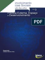 (Livro IPEA) Desenvolvimento Nas Ciencias Sociais