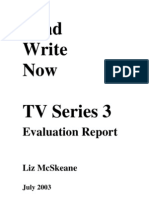 Read Write Now 3 - TV Evaluation Report