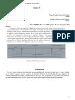 Taller Análisis de Estructuras II