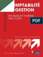 Comptabilité de Gestionanalyse Et Maîtrise Des Coûts by Thierry Jacquot and Richard Milkoff (Z-lib.org)