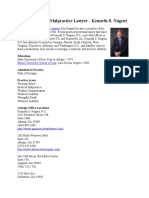 Georgia Medical Malpractice Lawyer - Kenneth S. Nugent
