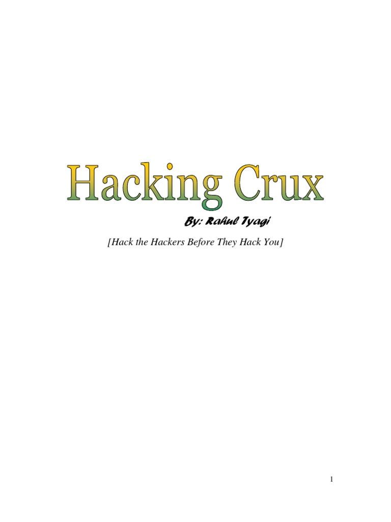 Hacking Crux By Rahul Tyagi | Proxy Server | Password