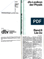 Dtv Lexikon Der Physik Band 6 Lie-Oz