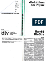 Dtv Lexikon Der Physik Band 8 Rh-Stra