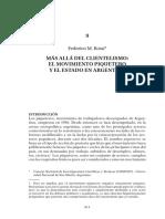 Rossi Federico-Más allá del Clientelismo