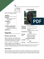 Biografía de Lorna Cepeda