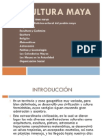 La cultura maya