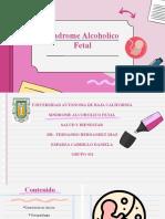 Síndrome Alcoholico Fetal