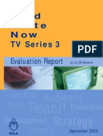 Read Write Now Series 3 - Evaluation Report