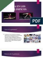 Gimnasia en Los Juego Olimpicos