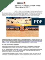Tourisme _ véritable coup de publicité mondiale pour le Maroc grâce à l'OMT