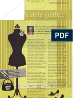 Style Guide by Jackie Llewelyn-Bowen