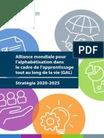 Alliance mondiale pour l'alphabétisation dans le cadre de láprentissage totu au long de la vie