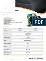 1 Model SPB-3420  3420D