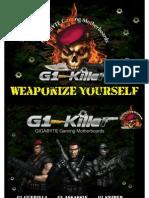 Gigabyte G1-Killer Gaming Series Motherboards