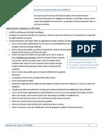 Résumé Mesures COVID 2021 Version Approuvée 27 Avril 2021