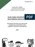 Guia Para Docentes y Multimedia Educativa
