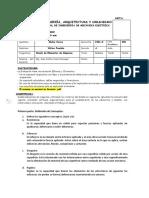 PRUEBA DIAGNOSTICA-ELEMENTOS DE MÁAUINAS
