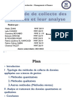 12-Méthode de collecte des données et leur analyse