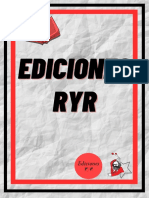 Ediciones ryr. Catálogo completo (Abril 2021) (M)