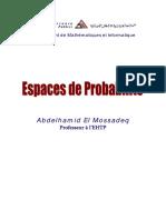 2-Espaces de Probabilites