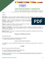 VENDAS DE MERCADORIAS, PRODUTOS E SERVIÇOS - CONTABILIZAÇÃO